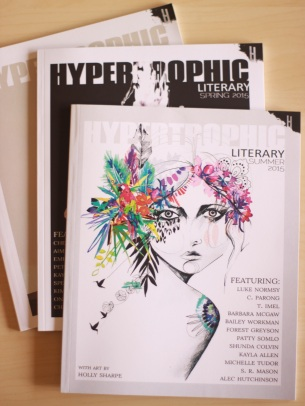 Hypertrophic Literary Covers